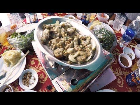 Ăn cưới ngay trên đường phố tại đảo Long Sơn, Vũng Tàu - Món hàu danh bất hư truyền (CSKPV)