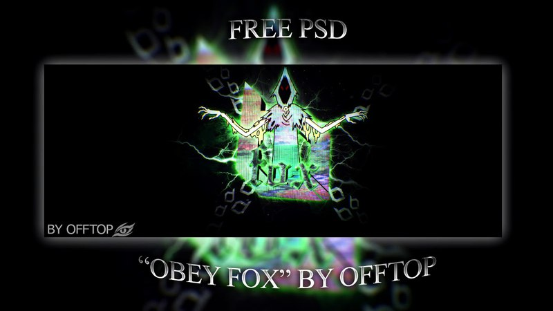 FREE PSD Obey Fox By dZ OffTop (NEW PACK SOON!)