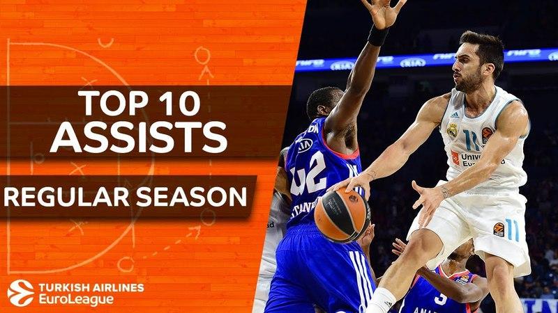 Turkish Airlines EuroLeague, Top 10 Assists, Regular Season