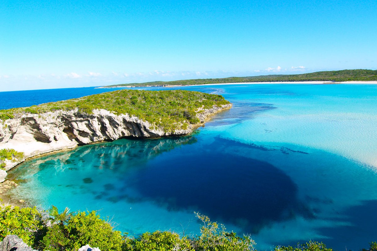 Голубая Дыра, Багамы
