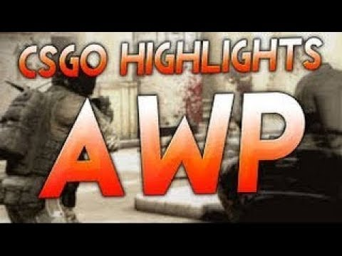 AWP highlight (ace ct 2x, ace T , 2 vs 4 - 4frags, 1 vs 3)