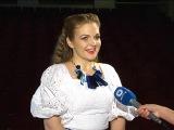 Певица Марина Девятова в программе Модный свет ТК Волга. Ведущая - Марина Теплиц ...