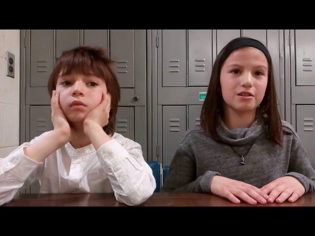 Дети-Билингвы. Интервью с молодыми американцами. Лиза 11 лет. Саша 9 лет.