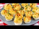 Muffin Tin Deviled Eggs