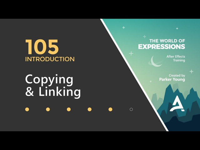 After Effects Expressions 105 - Copying Linking