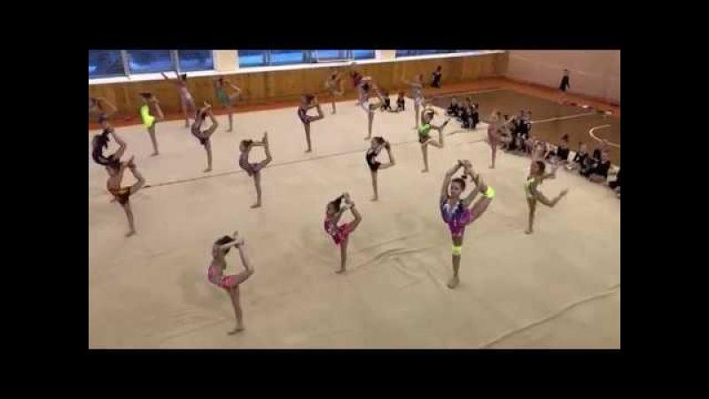 Поздравительное выступление гимнасток ОК СШОР к 8 марта