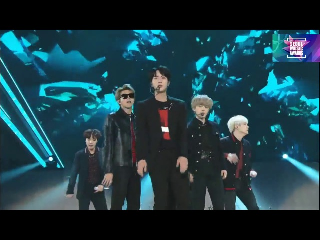BTS (방탄소년단) Mic Drop DNA @Seoul Music Awards 2018 27th 서울가요대상 180125