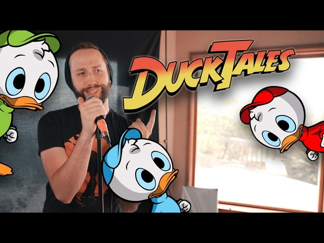 DuckTales - Opening Theme song (Cover by Jonathan Young)
