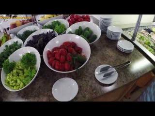 Анапа. Ривьера. Завтрак и обед Шведский стол 10.08.2017 Наедалово