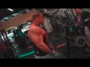 Dennis Wolf Trains Biceps and Triceps with Milos Sarcev