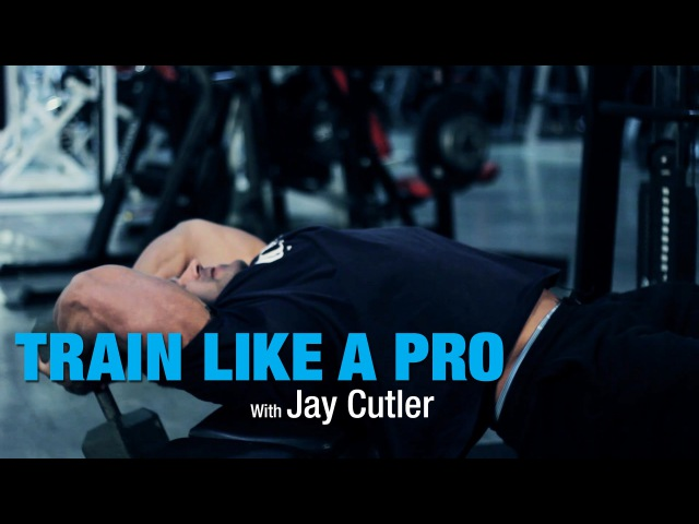 Dumbbell Pullover with Jay Cutler - Train Like A Pro - BPI Sports Ep. 3
