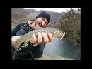 Форель, ловля в горных реках Абхазии 2018