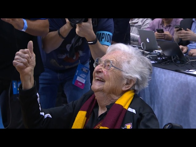 Sister Jean and Loyola-Chicago are headed to the Sweet Sixteen