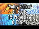 Path of Exile 3.1: Volley Edition - All Projectile Spells /w 6 Totems 15 Projectiles MTX's