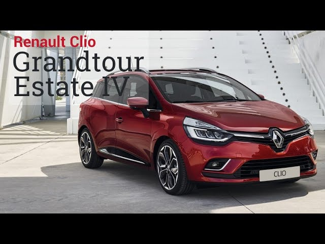 Универсал Renault Clio Grandtour Estate IV 2017, лидер среди компакт универсалов. Почти Тест-Драйв