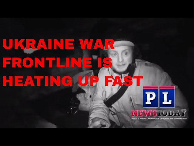 Ukraine War intense Frontline combat report