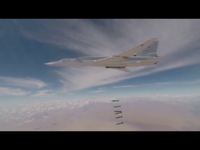 Russian long-range bombers destroy militant outposts, depots in Syria