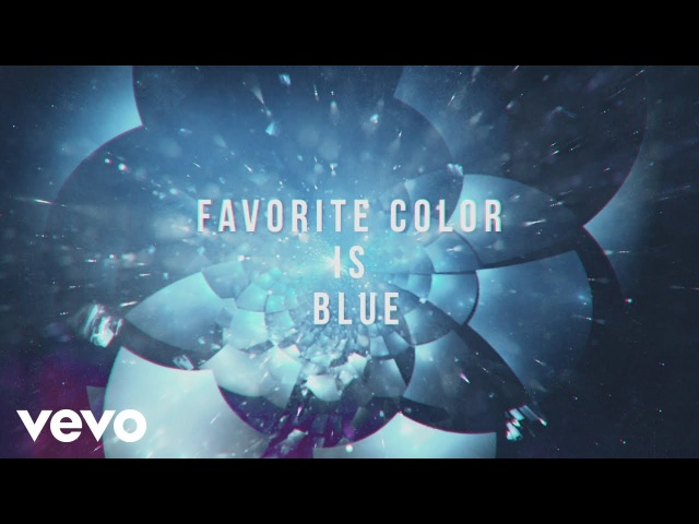 Robert DeLong - Favorite Color Is Blue (Lyric Video) ft. K.Flay