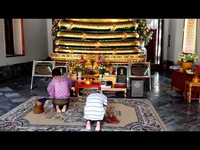 Храм Лежачего Будды Пхо/Wat Pho. Сказочный Бангкок. Королевство Таиланд.