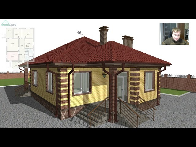 Проект небольшого дома «Семейный» B-332-ТП