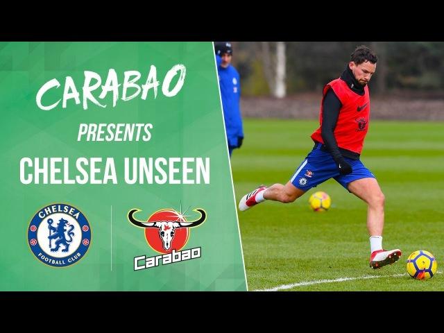 Morata, Drinkwater Cahill Score Screamers In Shooting Practice   Chelsea Unseen