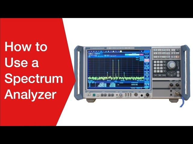 How to use a Spectrum Analyzer | Operating Using a Spectrum Analyser