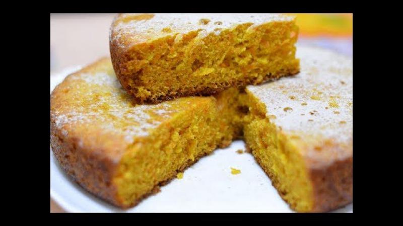 Морковный торт - самый простой рецепт./Carrot cake.