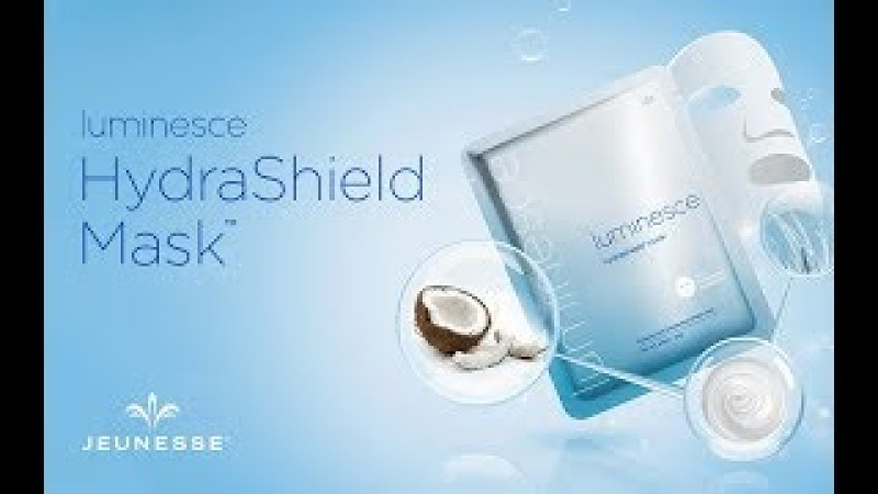Маска Luminesce HydraShield | Luminesce | Презентация | Jeunesse