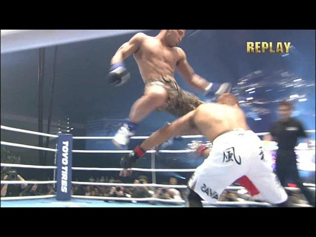 Norifumi Kid Yamamoto vs Kazuyuki Miyata - HD [Fastest KO in MMA]