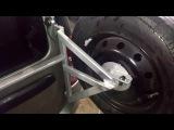 Как устранить дребезжание кронштейна держателя запасного колеса на Ларгусе