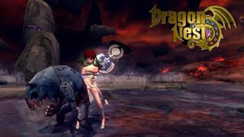 Битва героев вместе с Вильямом Dragon nest