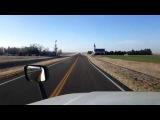 BigRigTravels LIVE! WaKeeney to near Dodge City, Kansas US 283 South-Mar. 16, 2018