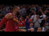 Dwyane Wade Gets Technical Foul  Cavaliers vs Knicks  November 13, 2017  2017-18 NBA Season