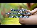 ДЖО ДИСПЕНЗА МЕДИТАЦИЯ КАК ПОЗНАНИЕ СЕБЯ Фрагмент книги Сила подсознания