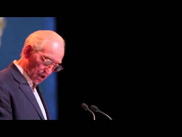Charles Dance on behalf of Donna Tartt at the Baileys Prize Shortlist Readings