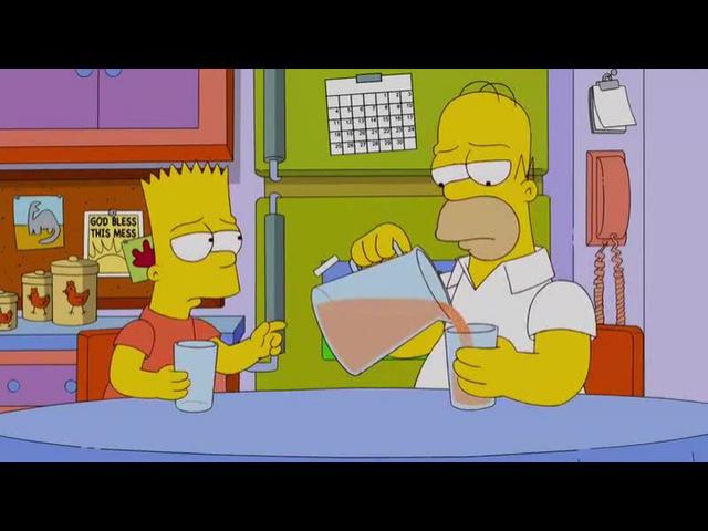 Boring life Bart Simpson