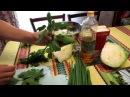 Семья Бровченко. Рецепт ОЧЕНЬ полезного салата с травами (сорняками).