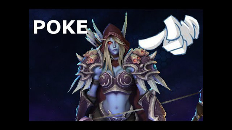Poke Sylvanas | Heroes of the Storm Jokes | Hots Heroes Funny Poke Dialog Voice Lines