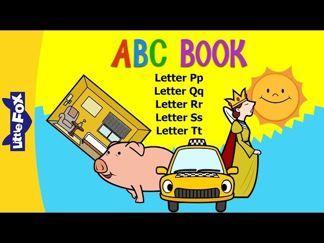 ABC Book: P-T | Level 1 | By Little Fox