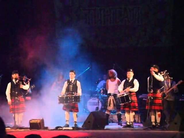 Тинтал и City Pipes Шотландская колыбельная