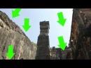 Храм Кайласа в пещерах Эллоры - вырезан из целой скалы