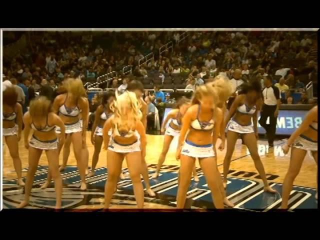 Черлидинг в Америке группа поддержки баскетбольной команды