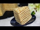 Торт со сгущенкой на сковороде