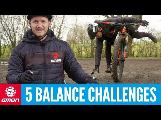 5 MTB Balance Challenges To Master   Mountain Bike Skills