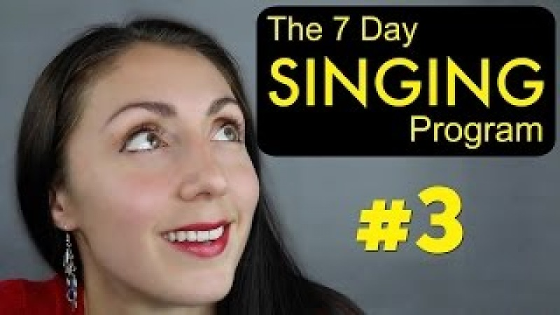 BREATH SUPPORT Day 3: Weekly SINGING EXERCISE Program