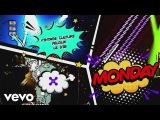 Vintage Culture, Felguk, Le Dib - Monday (Lyric Video)