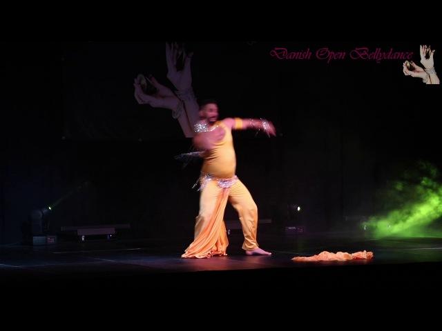 Azad Kaan - Gala show - Danish Open Bellydance 2017