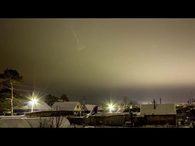 Менделеевск (проба зимнего таймлапса) · coub, коуб