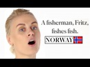 70 People Try 70 Tongue Twisters From 70 Countries Condé Nast Traveler
