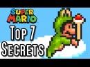 Super Mario Bros 3 TOP 7 SECRETS SNES NES